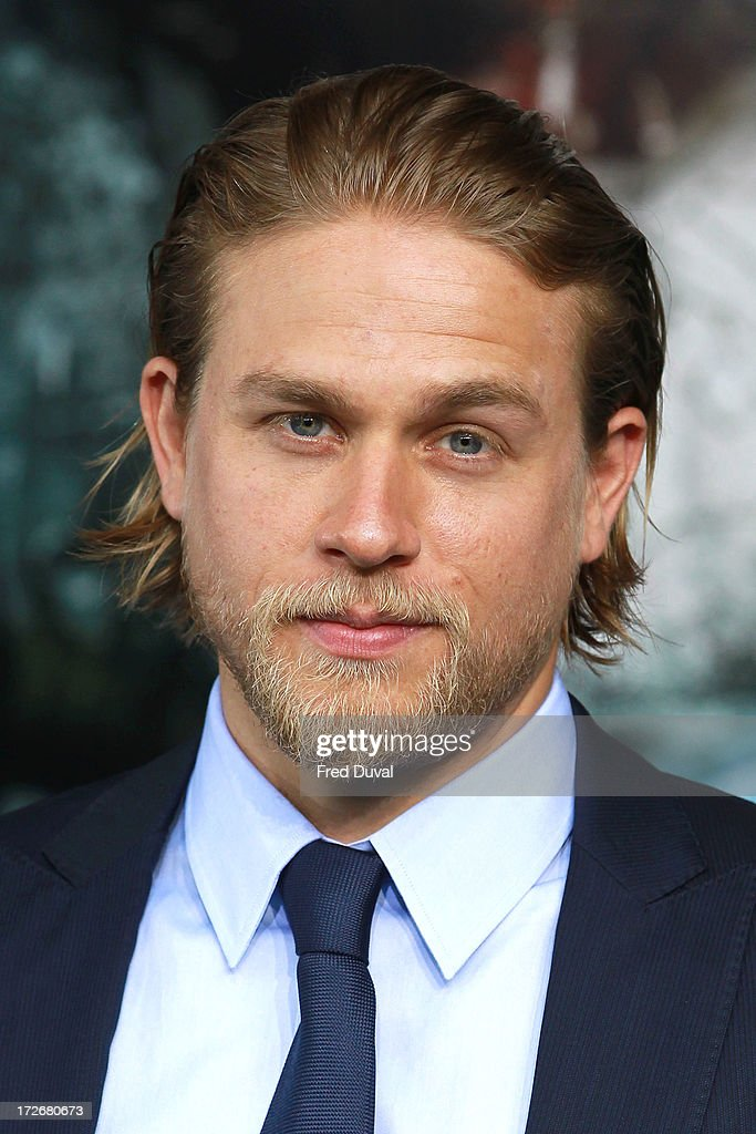 <a gi-track='captionPersonalityLinkClicked' href=/galleries/search?phrase=Charlie+Hunnam&family=editorial&specificpeople=223913 ng-click='$event.stopPropagation()'>Charlie Hunnam</a> attends the European Premiere of Pacific Rim at BFI IMAX on July 4, 2013 in London, England.