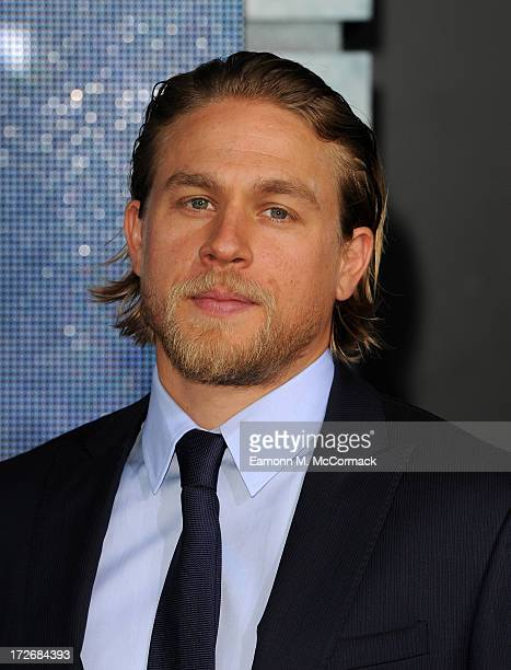 Charlie Hunnam attends the European Premiere of 'Pacific Rim' at BFI IMAX on July 4 2013 in London England