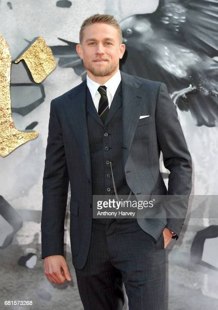 Charlie Hunnam attends the 'King Arthur Legend of the Sword' European premiere at Cineworld Empire on May 10 2017 in London United Kingdom