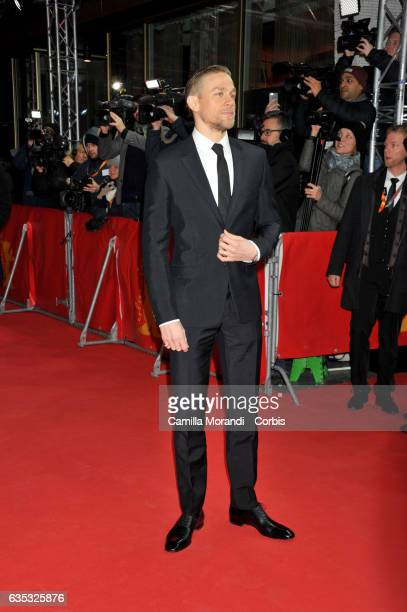 Charlie Hunnam attends the 'The Lost City of Z' premiere during the 67th Berlinale International Film Festival Berlin at Zoo Palast on February 14...
