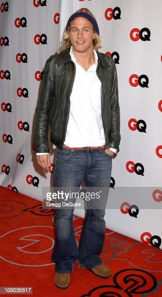 Charlie Hunnam during GQ Honors Tinseltown with the Unveiling of the GQ Annual Hollywood Issue at GQ Lounge at White Lotus in Hollywood California...