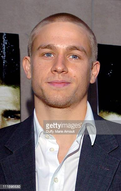 Charlie Hunnam during 'Green Street Hooligans' New York Premiere at Union Square Stadium 14 in New York City New York United States