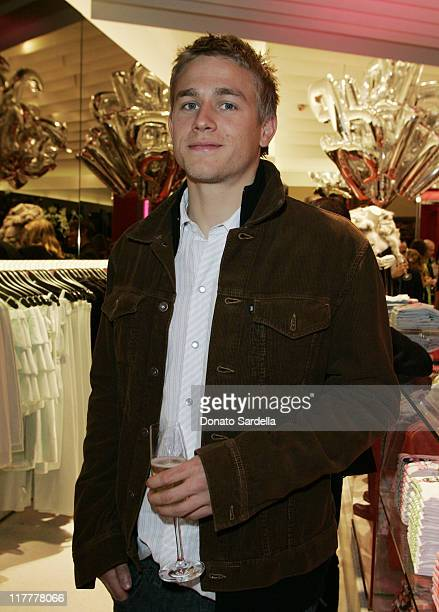 Charlie Hunnam during Juicy Couture Store Opening at Forum Shops in Las Vegas Nevada United States