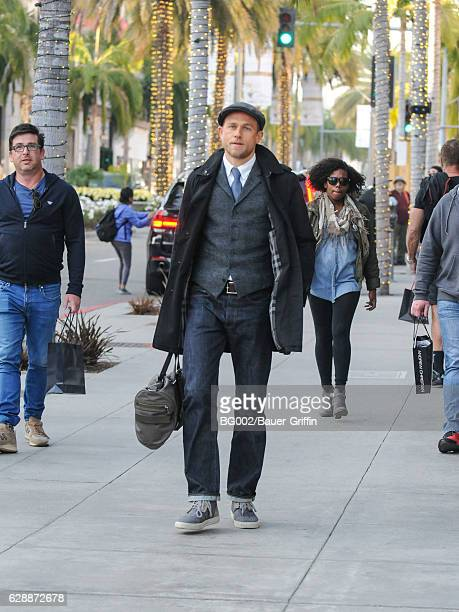 Charlie Hunnam is seen on December 09 2016 in Los Angeles California