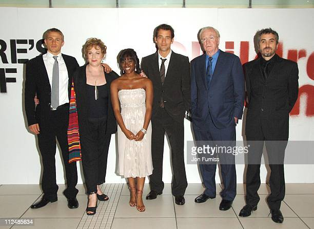 Charlie Hunnam Pam Ferris ClareHope Ashitey Clive Owen Michael Caine and Alfonso Cuaron