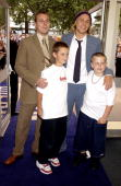 Charlie Hunnam With His Brothers 'Nicholas Nickleby' Premiere In Aid Of The National Childrens Homes At The Odeon Westend London