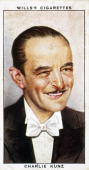 'Charlie Kunz' cigarette card Wills' cigarette card from 'Radio Celebrities' Series 1 1934 Wills' cigarette card from 'Radio Celebrities' Series 1...