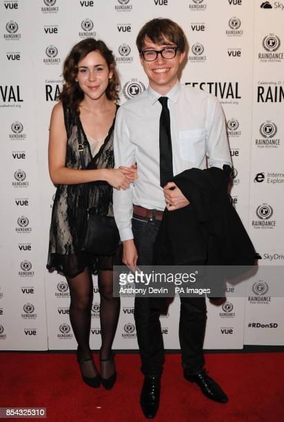 Charlie McDonnell attends a screening of How to Make Money Selling Drugs during the opening night of the 21st Raindance Film Festival at Vue West End...