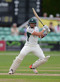 Charlie Morris of Worcestershire bats during the LV County Championship match between Worcestershire and Warwickshire at New Road on June 14 2015 in...