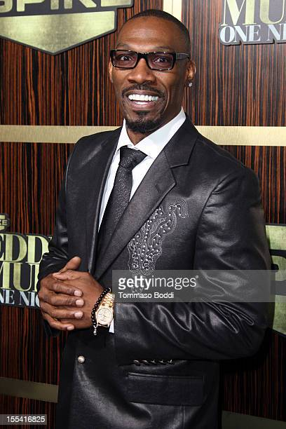 Charlie Murphy attends the Spike TV's 'Eddie Murphy One Night Only' held at the Saban Theatre on November 3 2012 in Beverly Hills California