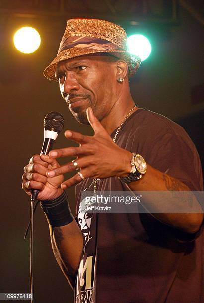 Charlie Murphy during 2005 Bonnaroo PreFestivities Charlie Murphy at Yet Another Comedy Tent in Manchester Tennessee United States