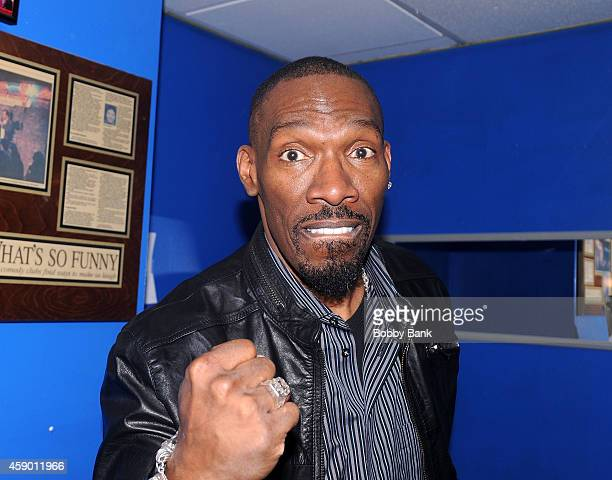 Charlie Murphy performs at The Stress Factory Comedy Club on November 14 2014 in New Brunswick New Jersey