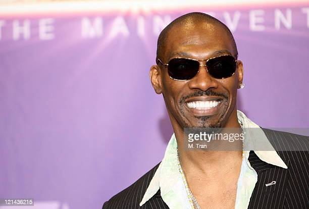 Charlie Murphy presenter during BET Awards 2007 Press Room at Shrine Auditorium in Los Angeles California United States