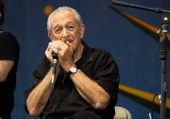 Charlie Musselwhite performs during the 2013 New Orleans Jazz Heritage Music Festival at Fair Grounds Race Course on April 27 2013 in New Orleans...