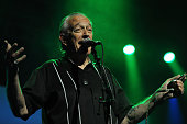 Charlie Musselwhite performs live for fans at the 2014 Byron Bay Bluesfest on April 17 2014 in Byron Bay Australia