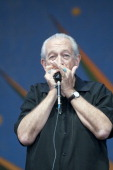 Charlie Musselwhite performs on stage on Day 2 of New Orleans Jazz Festival on April 27 2013 in New Orleans Louisiana