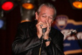 Charlie Musselwhite performs on the Harp Blowout Tour 2007 with Charlie Musselwhite Kim Wilson and Mark Hummel