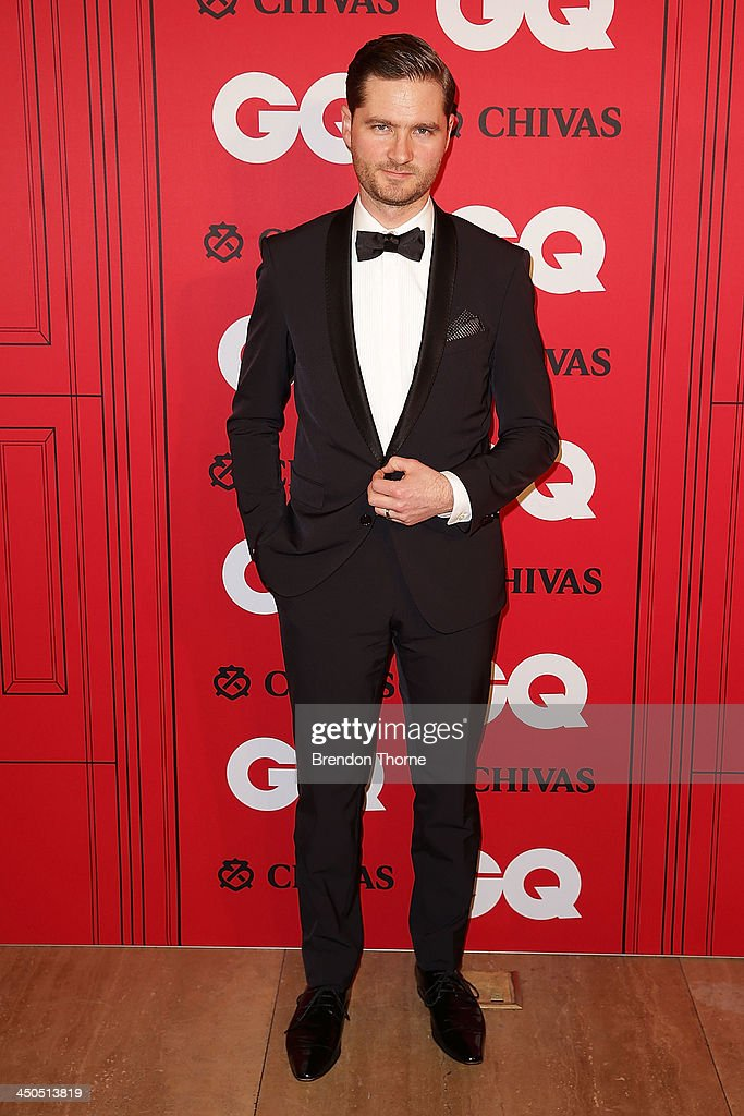 Charlie Pickering arrives at the GQ Men of the Year awards at the Ivy Ballroom on November 19, 2013 in Sydney, Australia.