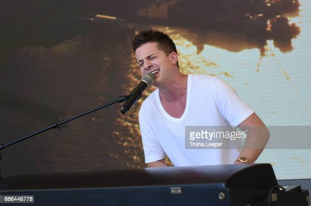 Charlie Puth performs at Today At Apple at Apple Union Square on May 20 2017 in San Francisco California