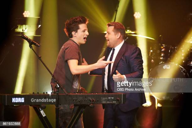 Charlie Puth performs during 'The Late Late Show with James Corden' Wednesday October 11 2017 On The CBS Television Network