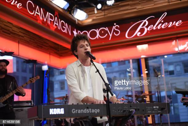 AMERICA Charlie Puth performs live on 'Good Morning America' Wednesday November 15 airing on the ABC Television Network CHARLIE