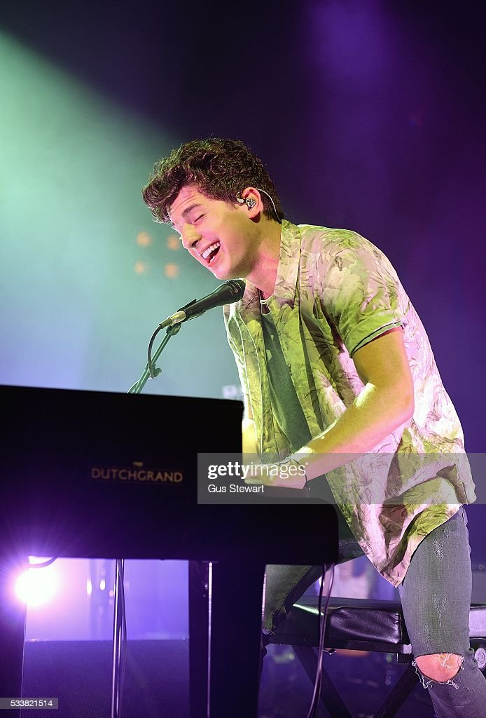 Charlie Puth performs on stage at KOKO on May 23 2016 in London