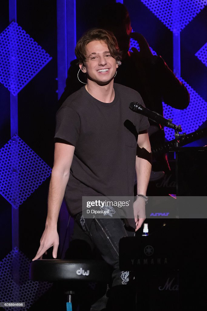 Charlie Puth performs onstage during Z100's Jingle Ball 2016 at Madison Square Garden on December 9, 2016 in New York City.