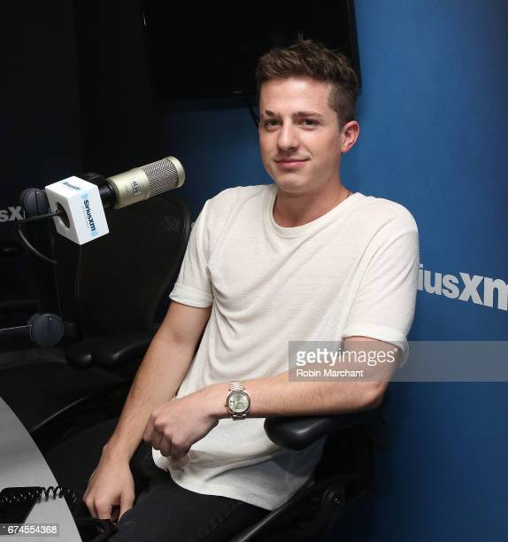 Charlie Puth visits at SiriusXM Studios on April 28 2017 in New York City