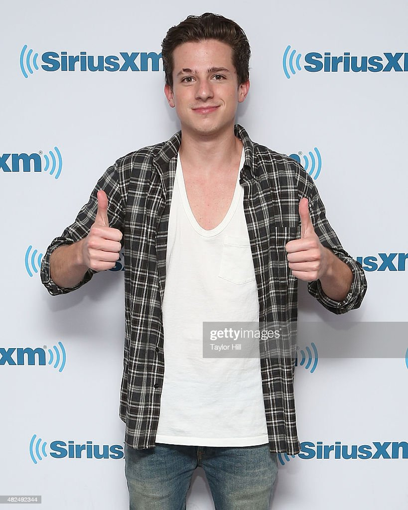 Charlie Puth visits the SiriusXM Studios on July 30, 2015 in New York City.