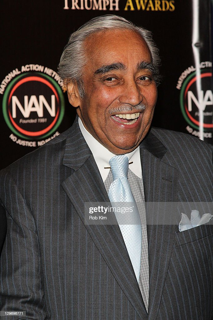Charlie Rangel attends the 2nd Annual Triumph Awards at the Rose Theater, Jazz at Lincoln Center on October 19, 2011 in New York City.