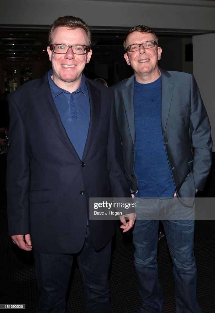 Charlie Reid and Craig Reid of The Proclamiers attend a special screening of 'Sunshine on Leith' at BAFTA on September 23, 2013 in London, England.