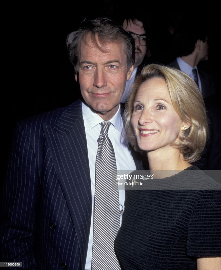 Charlie Rose and Amanda Burden during New York Public Library's Science Industry and Business Library First 100 Days Celebration at New York City...