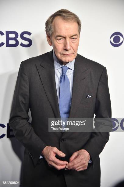 Charlie Rose attends the 2017 CBS Upfront on May 17 2017 in New York City