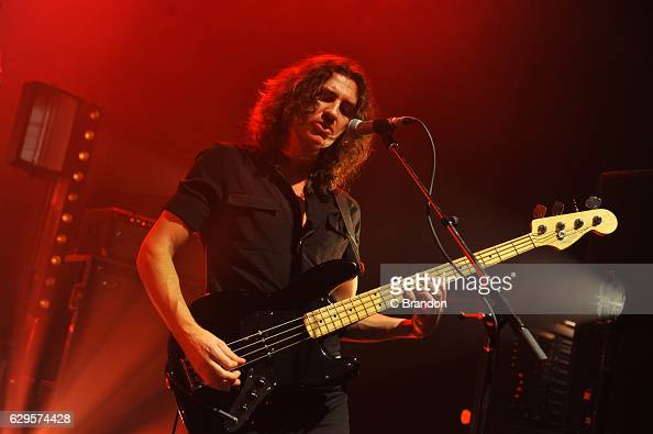 Charlie Salt of Blossoms performs on stage at the O2 Shepherd's Bush Empire on December 13 2016 in London England
