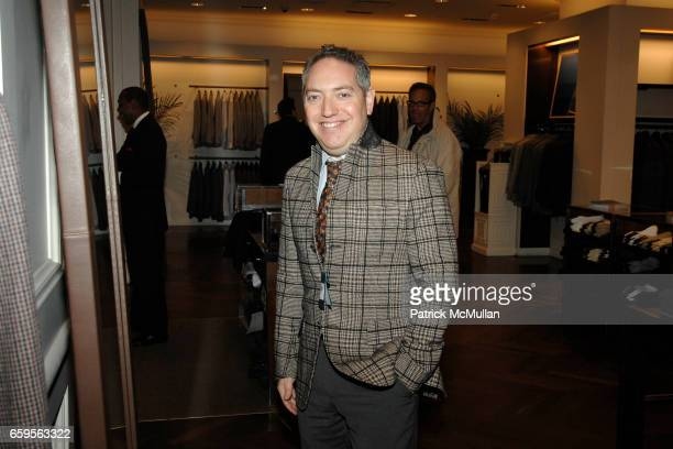 Charlie Scheips attends FACONNABLE VANITY FAIR Shopping Night for the Christopher Reeve Dana Reeve Foundation at Faconnable Store on October 27 2009...