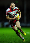 Charlie Sharples of Gloucester makes a break during the Aviva Premiership match between Exeter Chiefs and Gloucester Rugby at Sandy Park on January 9...