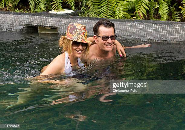 Charlie Sheen whisked Brooke Mueller off for a romantic weekend at the Four Seasons in Punta Mita Mexico to celebrate Brooke's birthday at Four...