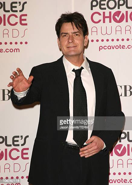 Charlie Sheen winner Favorite TV Comedy for 'Two and a Half Men'