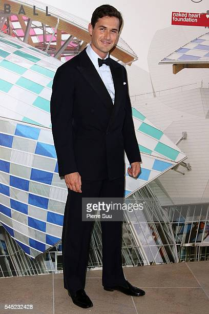 Charlie Siem attends the 'The Art of Giving' Love Ball Naked Heart foundation Photo Call as part of Paris Fashion Week on July 6 2016 in Paris France