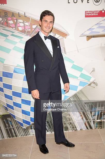 Charlie Siem attends the 'The Art of Giving' Love Ball Naked Heart Foundation Photo Call as part of Paris Fashion Week Haute Couture Fall/Winter...