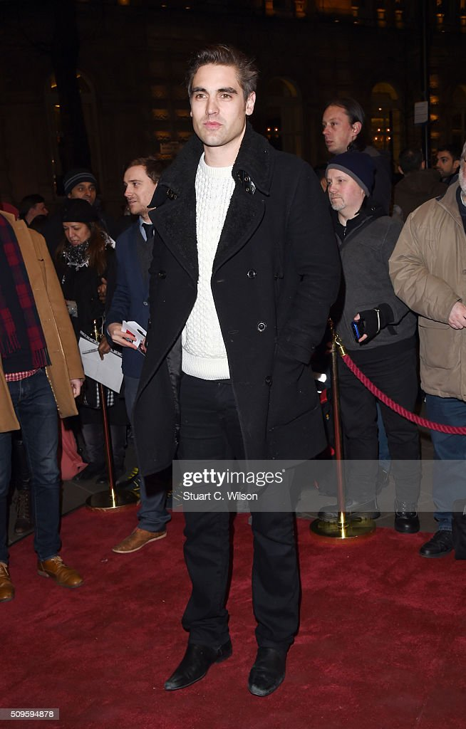 Charlie Simpson attends the World Premiere of 'End Of Longing', written by and starring Matthew Perry at Playhouse Theatre on February 11, 2016 in London, England.