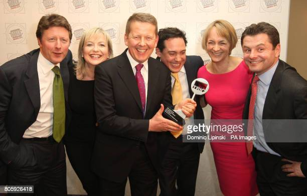 Charlie Stayt Carol Kirkwood Bill Turnbull Simon Jack Louise Minchin and Chris Hollins with the award for 'Best TV Daytime Programme' at the TRIC...