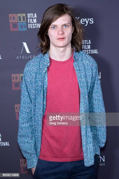 Charlie Tahan arrives for the DTLA Film Festival Premiere Of The Orchard's 'Super Dark Times' at Regal 14 at LA Live Downtown on September 25 2017 in...
