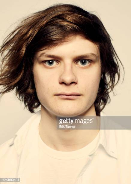 Charlie Tahan from 'Super Dark Times' attends the 2017 Tribeca Film Festival portrait studio on April 20 2017 in New York City