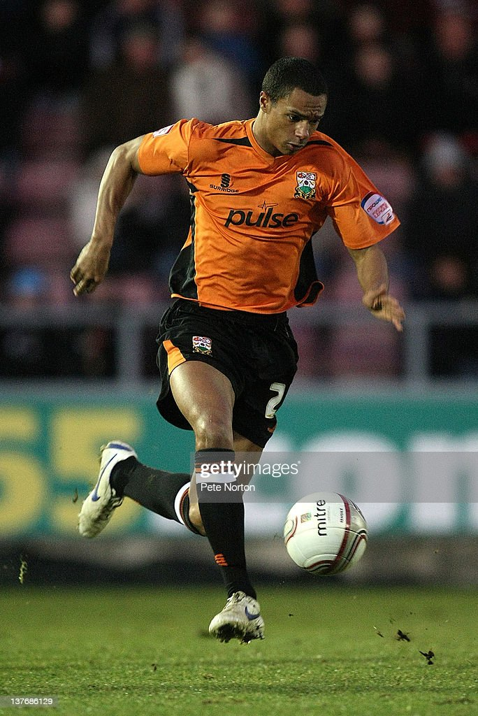 Charlie Taylor of Barnet in action during the npower League Two match between Northampton Town and Barnet at Sixfields Stadium on January 21, 2012 in Northampton, England.