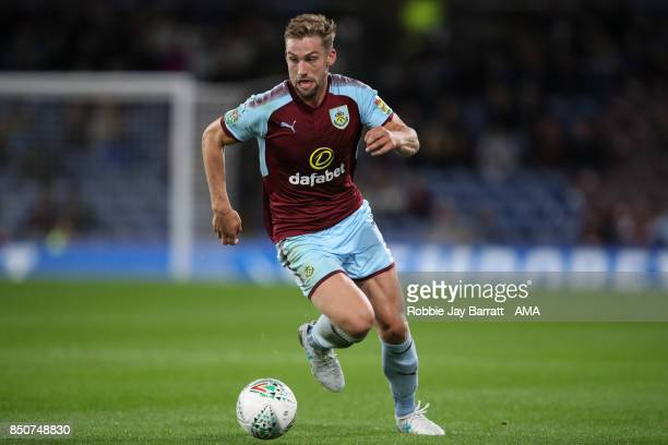 Charlie Taylor of Burnley during the Carabao Cup Third Round match between Burnley and Leeds United at Turf Moor on September 19 2017 in Burnley...
