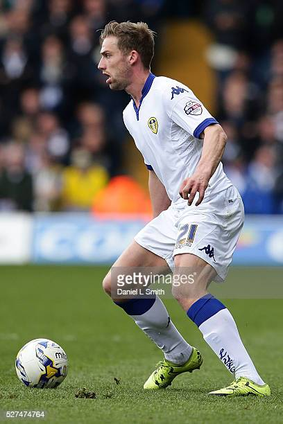 Charlie Taylor of Leeds United FC during the Sky Bet Championship match between Leeds United and Charlton Athletic at Elland Road on April 30 2016 in...