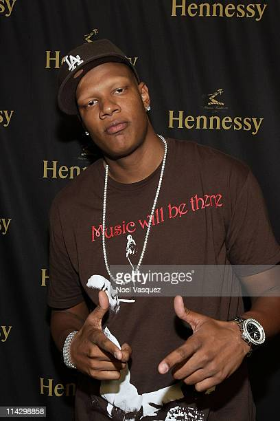 Charlie Villanueva attends the Hennessy Latino Artistry Los Angeles party at loftSEVEN on July 30 2009 in Los Angeles California