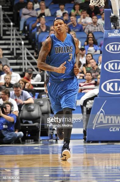 Charlie Villanueva of the Dallas Mavericks during the game against the Orlando Magic on October 24 2014 at Amway Center in Orlando Florida NOTE TO...