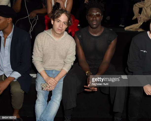 Charlie Walk attends Rochambeau fashion show during New York Fashion Week The Shows at Gallery 1 Skylight Clarkson Sq on September 10 2017 in New...